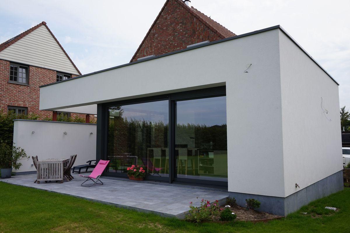 HD wallpapers maison contemporaine brabant wallon ...