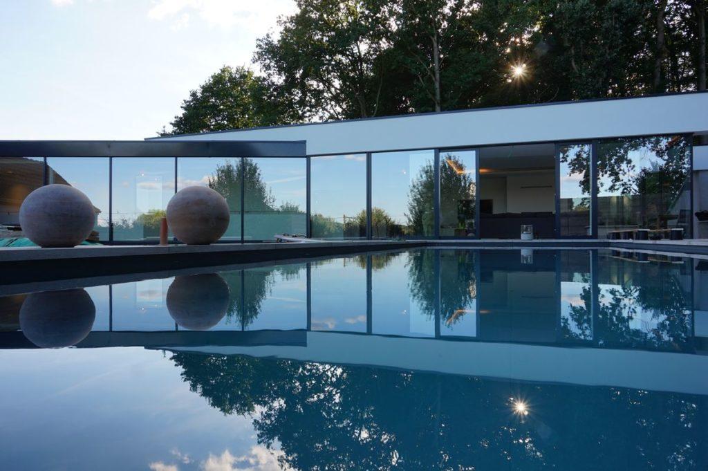 Une extension moderne et design à Glabais dans le Brabant wallon