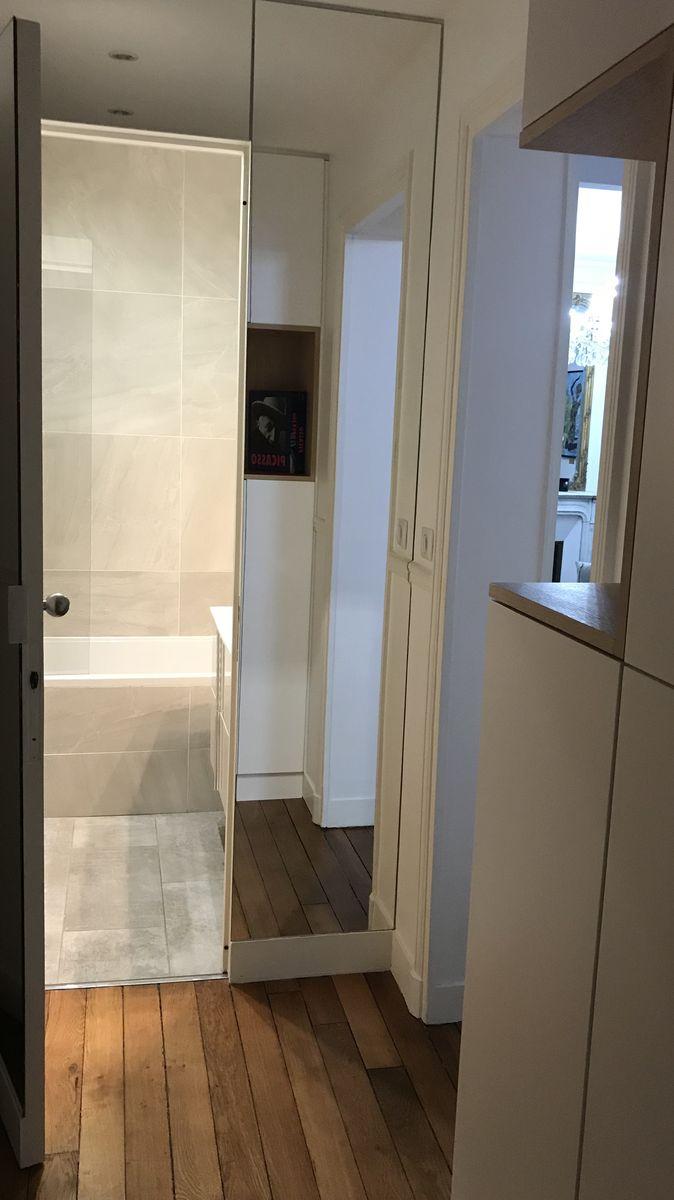 r novation d 39 un appartement haussmannien paris herv vanden haute. Black Bedroom Furniture Sets. Home Design Ideas