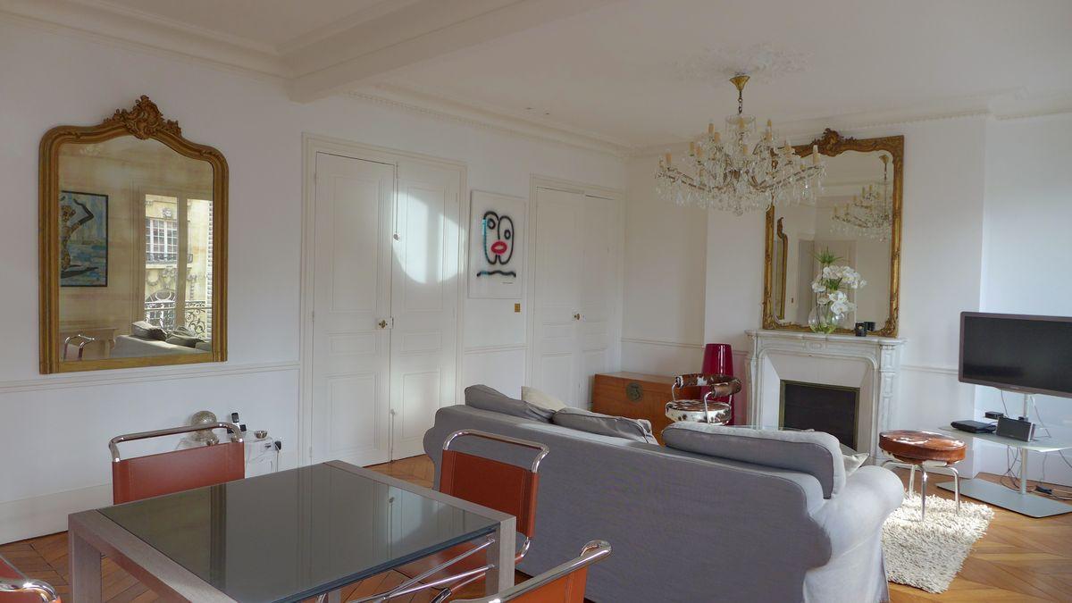 Rénovation d\'un appartement Haussmannien à Paris - Hervé Vanden Haute